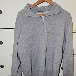 brandy Melville quarter zip